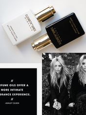 CAMEO: ASHLEY OLSEN AND MARY-KATE OLSEN ON ELIZABETH AND JAMES NIRVANA PERFUME OIL