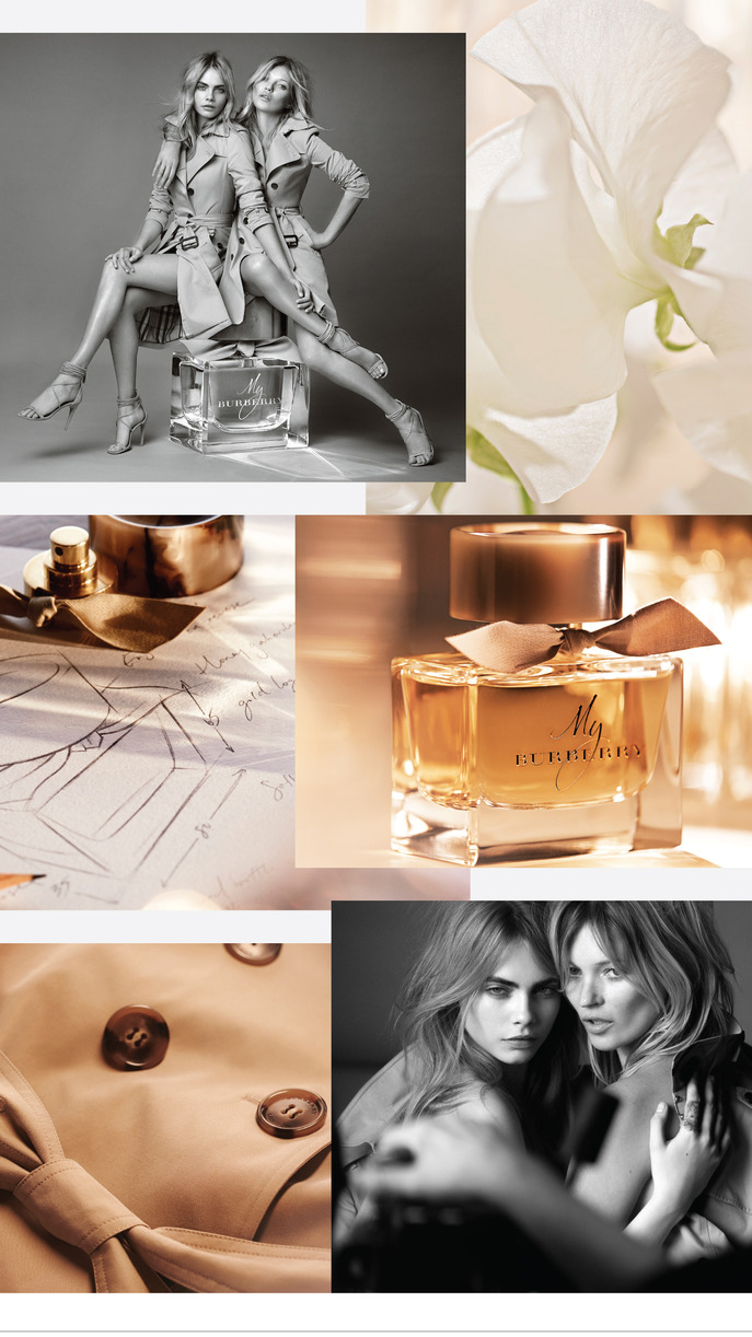 OBJECT/SUBJECT: MY BURBERRY EAU DE PARFUM