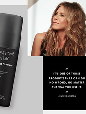 CAMEO: JENNIFER ANISTON ON LIVING PROOF INSTANT TEXTURE MIST