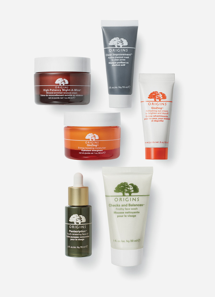 BESTSELLING PRODUCTS BY ORIGINS