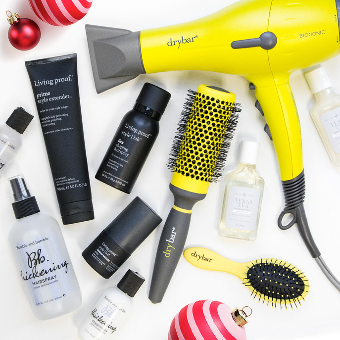 GIVE YOUR HAIR HOLIDAY FLAIR