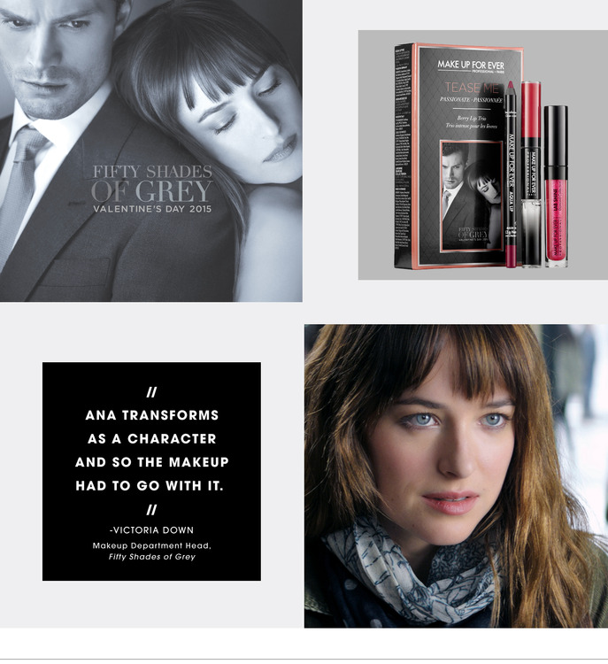 CAMEO: THE FIFTY SHADES OF GREY MAKEUP ARTIST SPILLS HER SECRETS