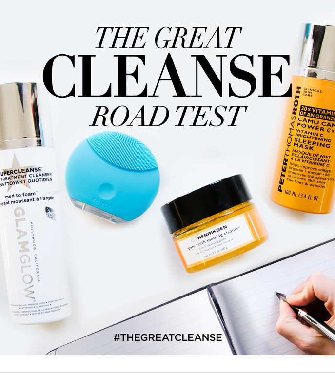 THE GREAT CLEANSE: ROAD TESTING NEW FACIAL CLEANSERS