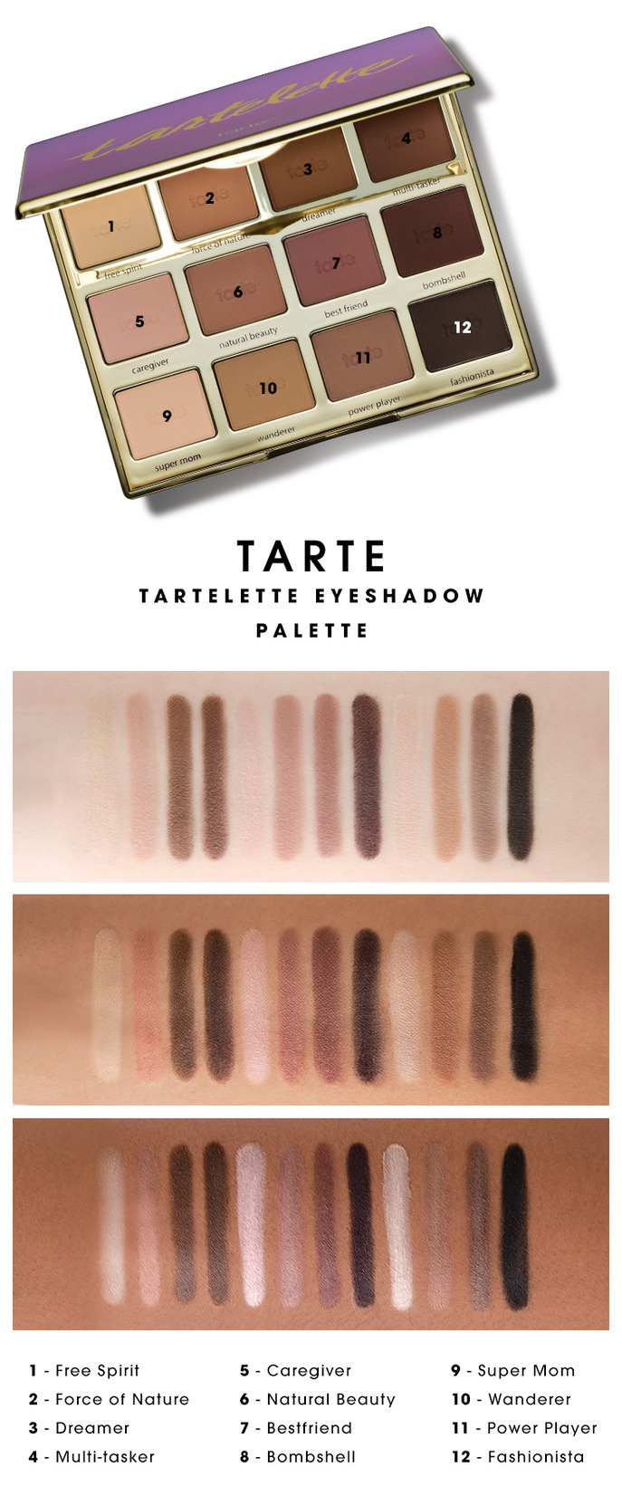 TARTE EYESHADOW LOOKS GOOD ON ALL SKIN TONES
