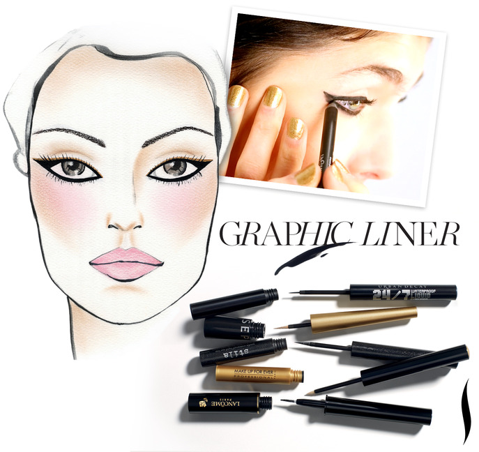 MAKING FACES: Four Steps to Extraordinary Graphic Liner