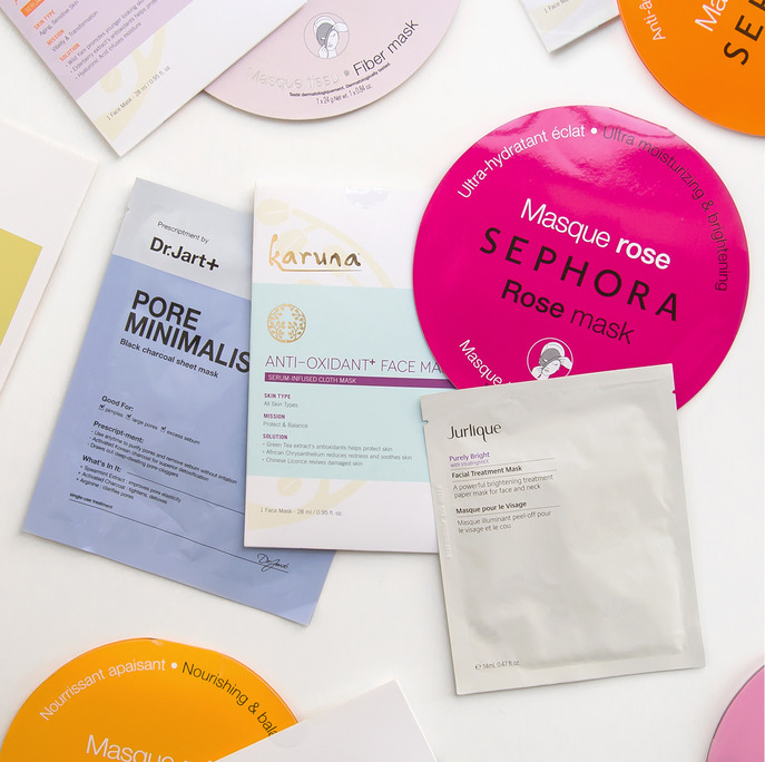 SPOT IT: FIND YOUR QUICK FIX SHEET MASK