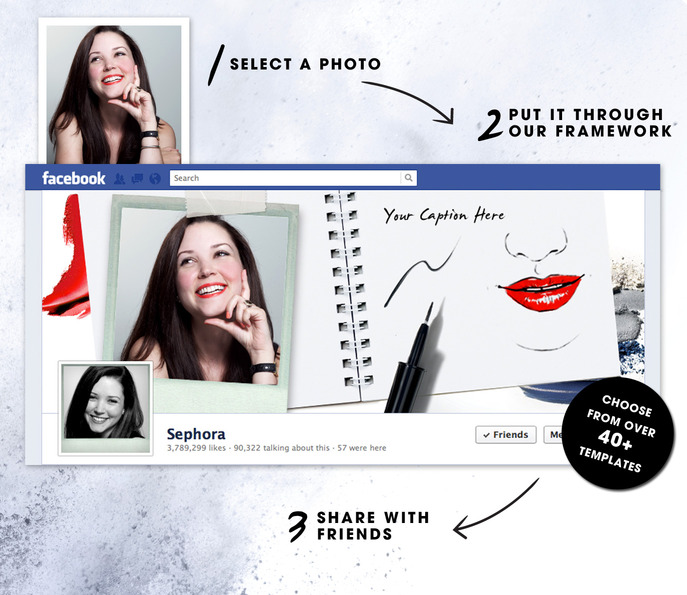 Front/Center: Sephora Framework on Facebook