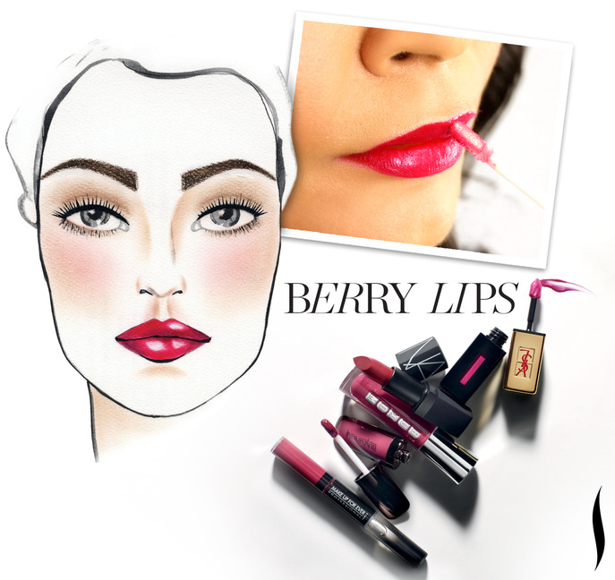 Making Faces: Five Steps to Extraordinary Berry Lips