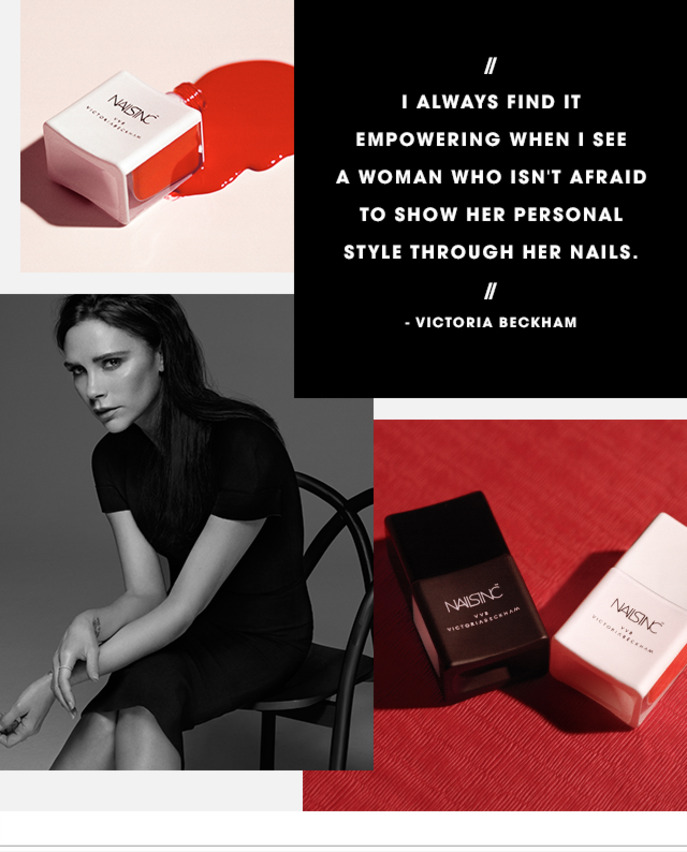 CAMEO: VICTORIA BECKHAM ON HER COLLABORATION WITH NAILS INC.
