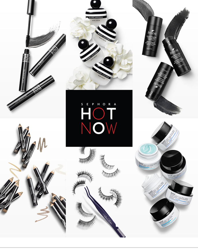 SEPHORA HOT NOW: THE NEW GLAMOUR