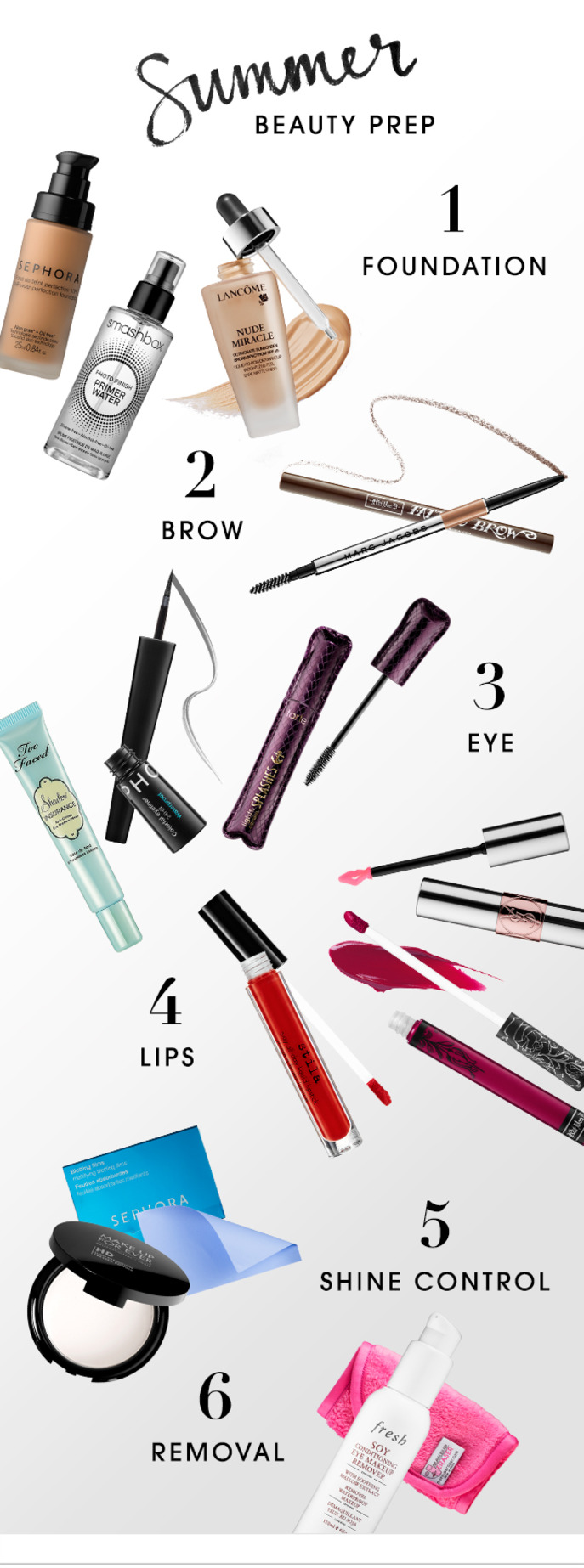 THE TIP-OFF: SUMMER BEAUTY PREP