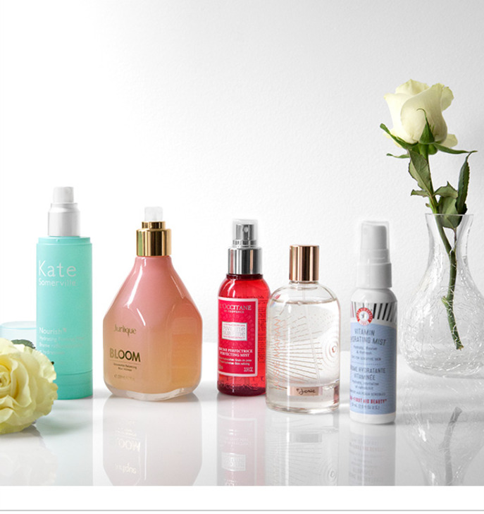 HIGH FIVE: NEW FACE MISTS FOR SUMMER