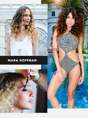 FRONT/CENTER: MARA HOFFMAN AT MIAMI SWIM WEEK