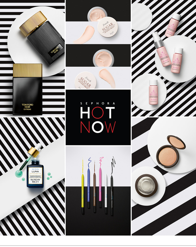 SEPHORA HOT NOW: SUMMER NIGHT ESSENTIALS