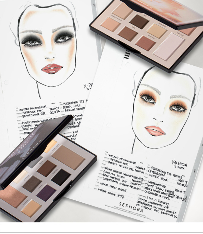 MAKING FACES: SEPHORA COLLECTION FILTER PALETTES