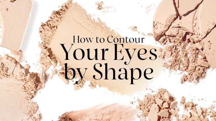 VIDEO: HOW TO CONTOUR EYES BY SHAPE