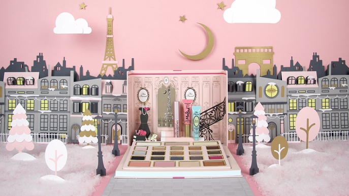 VIDEO: TOO FACED LE GRAND PALAIS