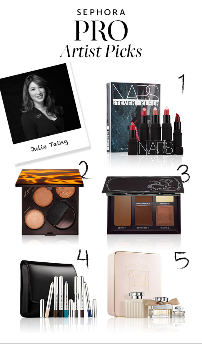 SEPHORA PRO ARTIST PICKS: HOLIDAY BEAUTY