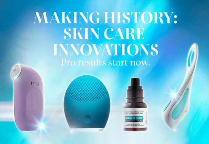 MAKING HISTORY: SKINCARE INNOVATIONS