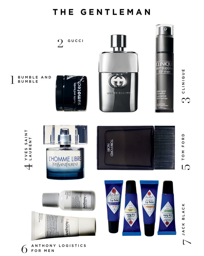 Sephora Holiday Gift Guide: The Gentleman