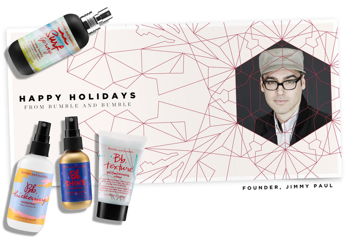 HOLIDAY INSIDER: HAPPY HOLIDAYS FROM BUMBLE AND BUMBLE