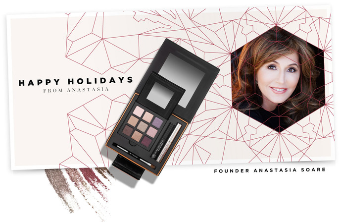 Holiday Insider: HAPPY HOLIDAYS FROM ANASTASIA SOARE