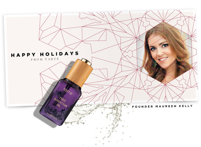 Holiday Insider: HAPPY HOLIDAYS FROM TARTE