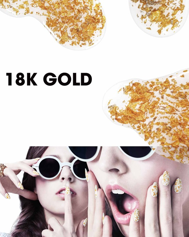 JOIN THE DIY REVOLUTION: 18K GOLD NAILS