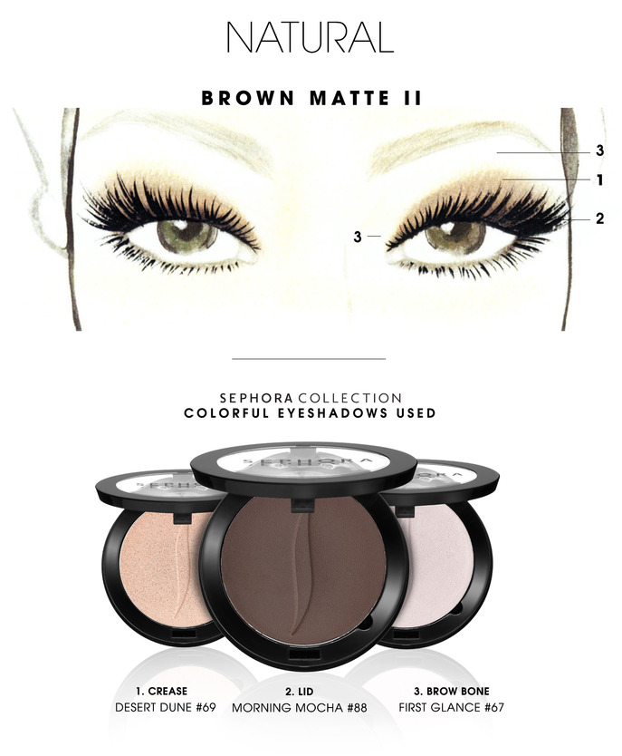 MAKING FACES: BROWN MATTE II