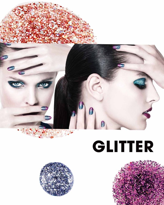 JOIN THE DIY REVOLUTION: GLITTER NAILS