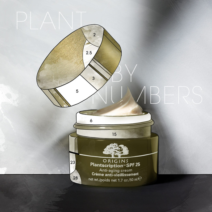 SPOT IT: ORIGINS PLANTSCRIPTION ANTI-AGING CREAM