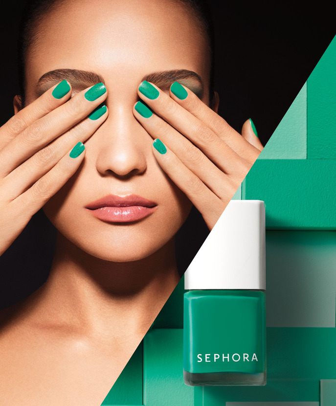 SEPHORA HOT NOW: VOLUME 3 SEPHORA + PANTONE UNIVERSE COLOR CHARGED GRAPHIC NAIL LACQUER