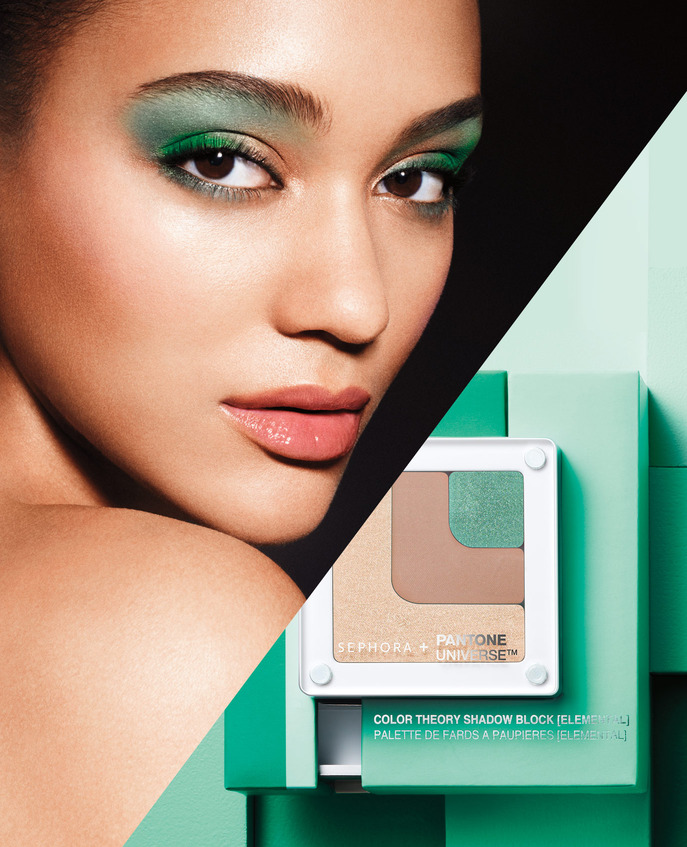 SEPHORA HOT NOW: VOLUME 3 SEPHORA + PANTONE UNIVERSE COLOR GRID SHADOW BLOCK IN ELEMENTAL