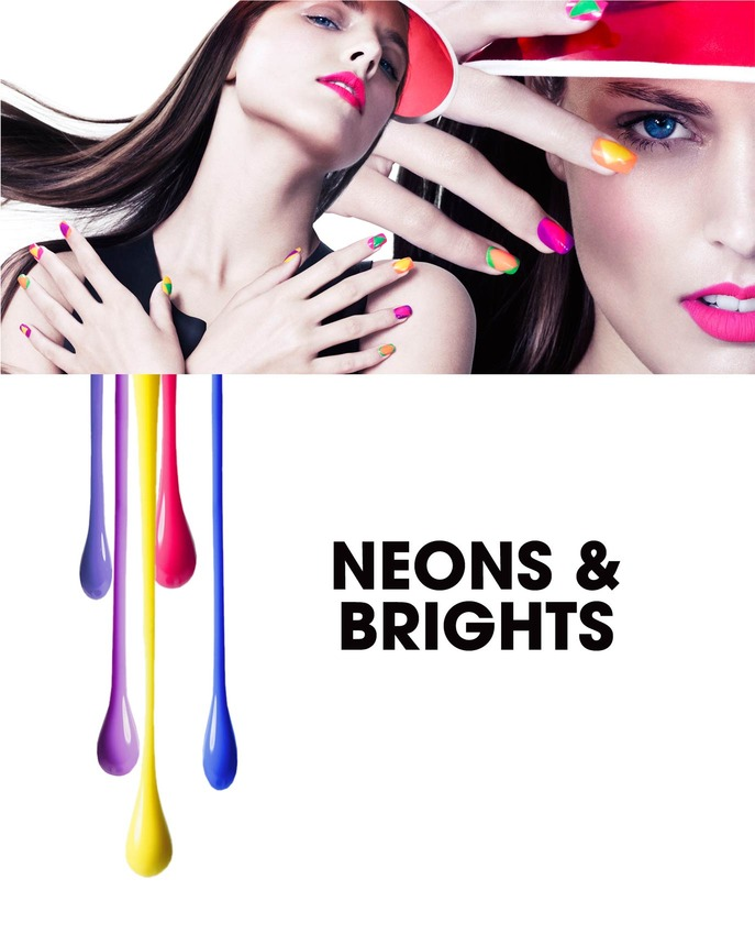 JOIN THE DIY REVOLUTION: NEON & BRIGHT NAILS