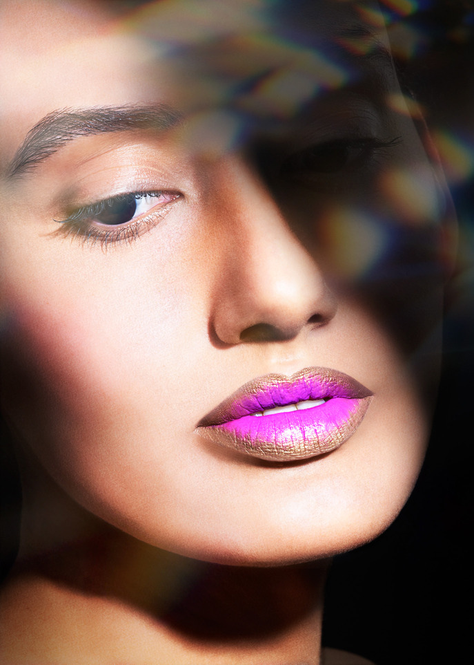 THE TIP-OFF: METALLIC OMBRE WITH OCC LIP TARS