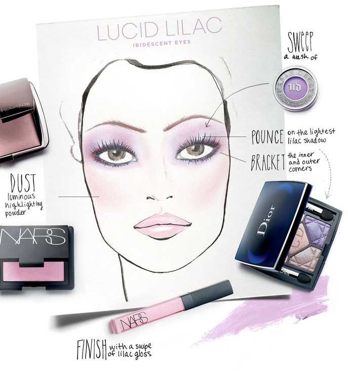 MAKING FACES: LUCID LILAC