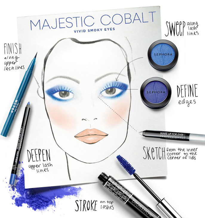MAKING FACES: MAJESTIC COBALT