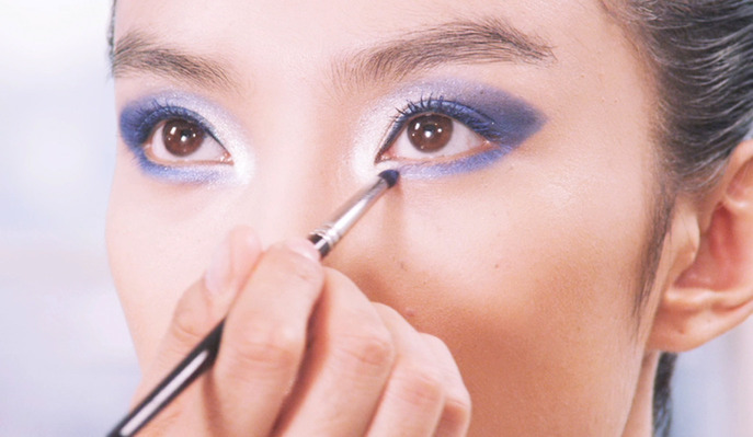 VIDEO: VIVID SMOKY EYES WITH LA MAISON DE COLOR VISION  MAJESTIC COBALT  