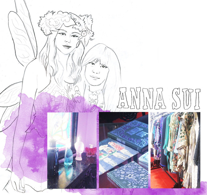 CHARACTER STUDY: ANNA SUI