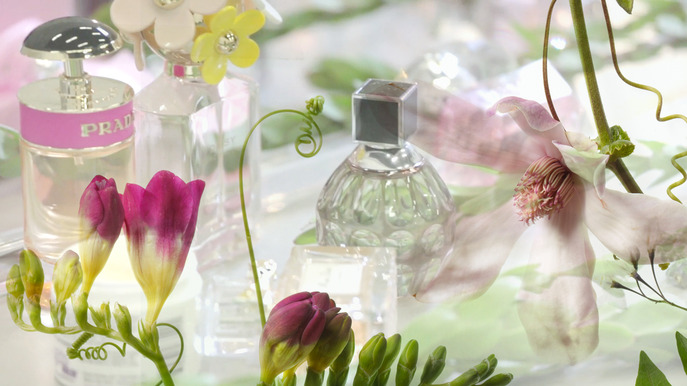 VIDEO: BEHIND THE SCENES AT THE SHOOT FOR OUR MAY FRAGRANCE WINDOWS