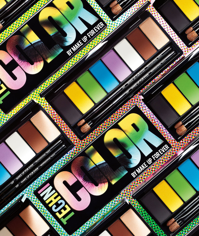 SEPHORA HOT NOW VOLUME 5: MAKE UP FOR EVER TECHNICOLOR PALETTE