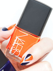 FRONT/CENTER: CHEVRON DIAMOND NAILS WITH PIERRE HARDY FOR NARS