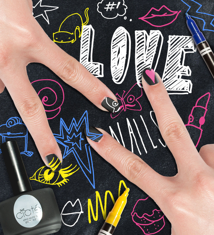 THE TIP-OFF: CIATÉ CHALKBOARD MANICURE