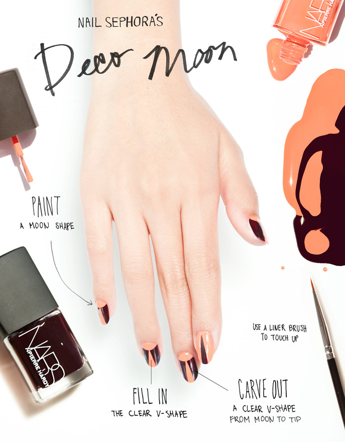 THE TIP-OFF: DECO MOON MANICURE WITH PIERRE HARDY FOR NARS