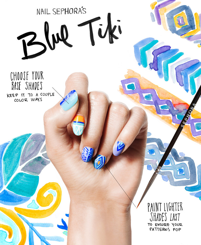 THE TIP-OFF: BLUE TIKI MANICURE