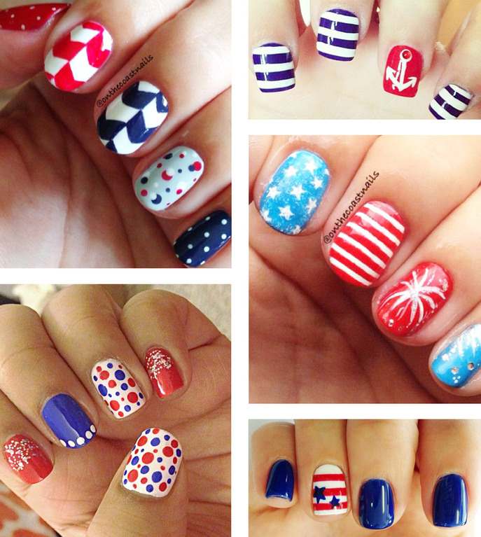 IN VAIN: PATRIOTIC NAILSPOTTING