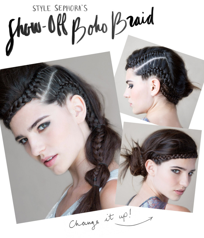 THE HOW-TO: SHOW-OFF BOHO BRAID AT SECRET AGENT SALON