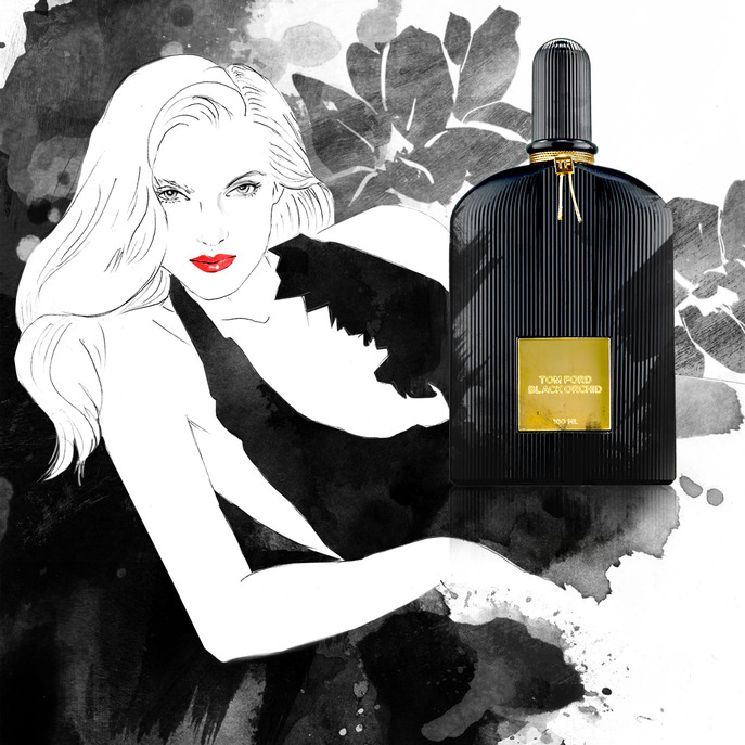 CAMEO: TOM FORD ON BLACK ORCHID