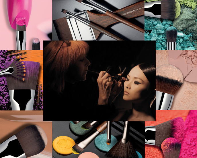 CAMEO: FOUNDER DANY SANZ ON THE MAKE UP FOR EVER BRUSH COLLECTION 2013