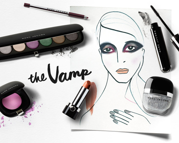 MAKING FACES: THE VAMP LOOK FROM MARC JACOBS BEAUTY